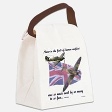 Battle of Britain Canvas Lunch Bag