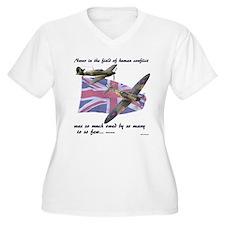 Battle of Britain Plus Size T-Shirt