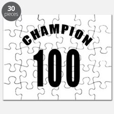 100 Champion Birthday Designs Puzzle