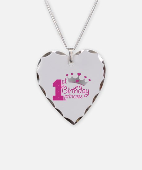 1st Birthday Princess Necklace