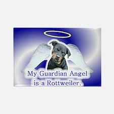 3-Guardian Angel -Rottweiler Magnets