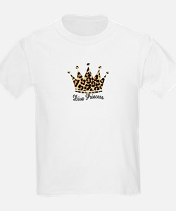 leopard diva princess T-Shirt