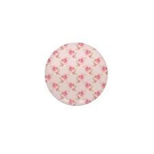 Pink Roses Mini Button (100 pack)