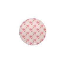 Pink Roses Mini Button (10 pack)