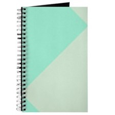 Minty Green Diamond Checkerboard Journal