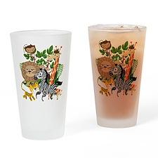 Animal Safari Drinking Glass