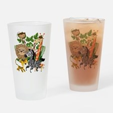 Animal Safari Drinking Glass