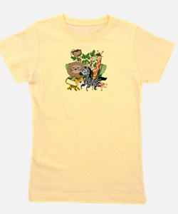 Animal Safari Girl's Tee