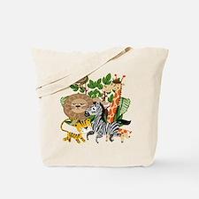 Animal Safari Tote Bag