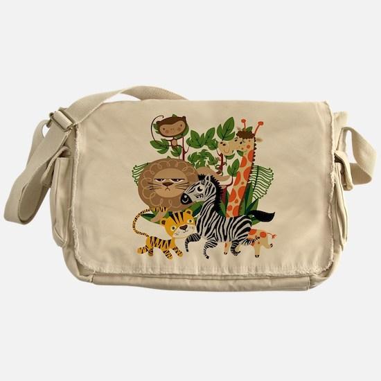 Animal Safari Messenger Bag