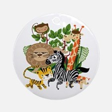Animal Safari Ornament (Round)