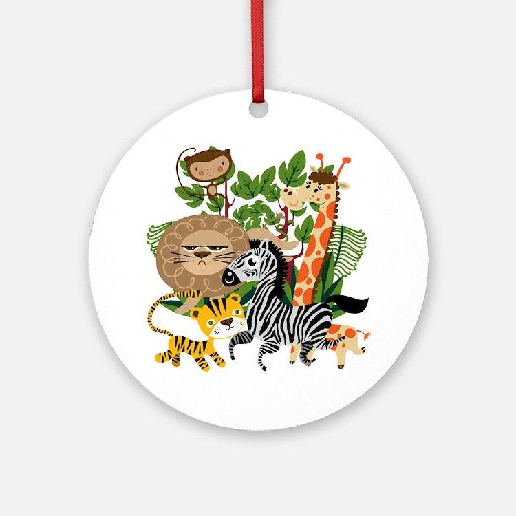 Animal Safari Ornament (Round)