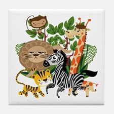Animal Safari Tile Coaster