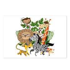 Animal Safari Postcards (Package of 8)