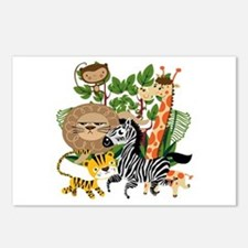 Animal Safari Postcards (Package of 8)