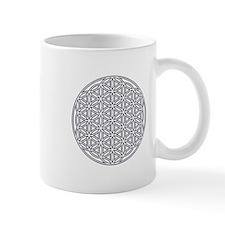 Flower of Life Single White Mug