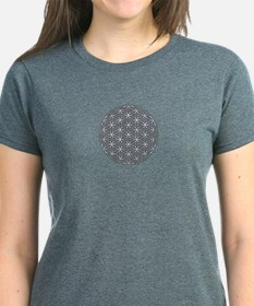 Flower of Life Single White Tee