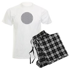 Flower of Life Single White Pajamas