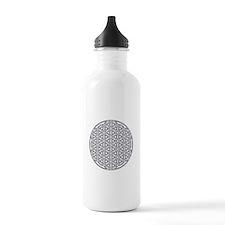 Flower of Life Single Water Bottle
