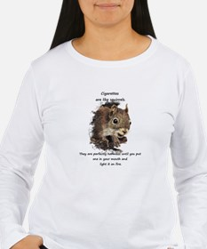 Quit Smoking Motivational Fun Squirrel Quote Long