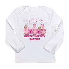Hippity Hoppity Easter Long Sleeve Infant T-Shirt