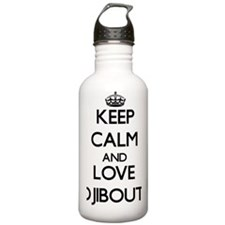 Keep Calm and Love Dji Water Bottle