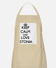 Keep Calm and Love Estonia Apron