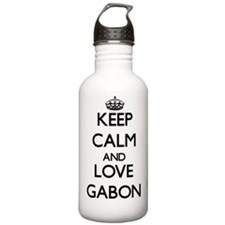 Keep Calm and Love Gab Water Bottle