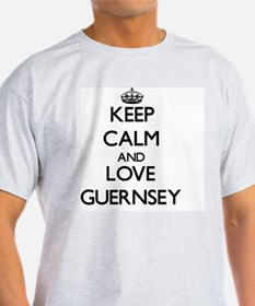 Keep Calm and Love Guernsey T-Shirt