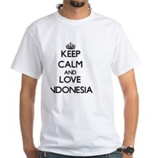 Keep Calm and Love Indonesia Shirt