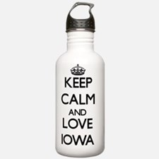 Keep Calm and Love Iow Water Bottle