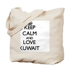 Keep Calm and Love Kuwait Tote Bag