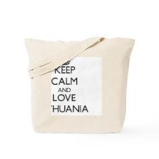 Keep Calm and Love Lithuania Tote Bag