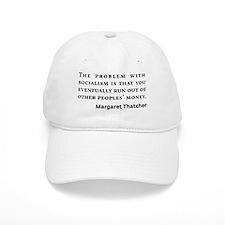 Socialism Margaret Thatcher Quote Baseball Baseball Cap