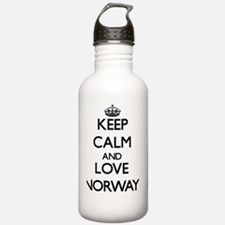Keep Calm and Love Nor Water Bottle
