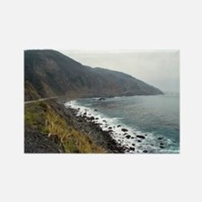 big sur coast drive Rectangle Magnet