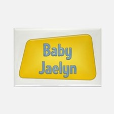 Baby Jaelyn Rectangle Magnet