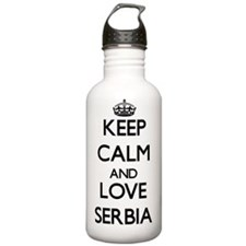 Keep Calm and Love Ser Water Bottle