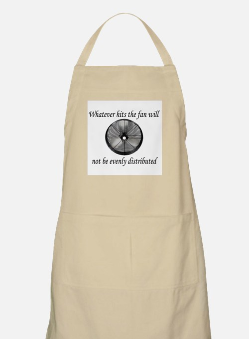 Whatever hits the Fan ... BBQ Apron