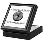 Whatever hits the Fan ... Keepsake Box