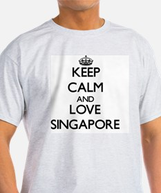 Keep Calm and Love Singapore T-Shirt