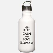Keep Calm and Love Slo Water Bottle
