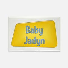 Baby Jadyn Rectangle Magnet