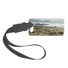 Seascape towards morro bay Luggage Tag