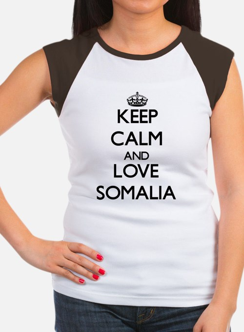 Keep Calm and Love Soma Women's Cap Sleeve T-Shirt