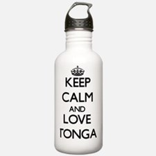 Keep Calm and Love Ton Water Bottle