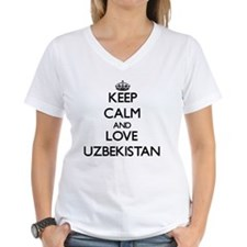 Keep Calm and Love Uzbekist Shirt