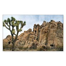 Joshua Tree Landscape Decal