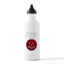 Smiling Petri Dish Water Bottle
