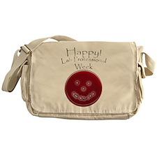 Smiling Petri Dish Messenger Bag
